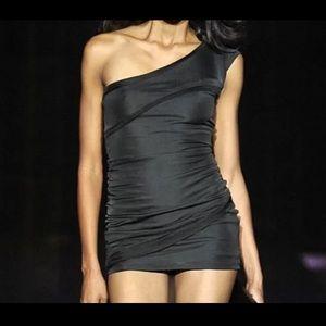 Windsor Sexy One Shoulder Black Dress